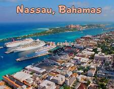 Bahamas - NASSAU - Travel Souvenir Flexible Fridge Magnet