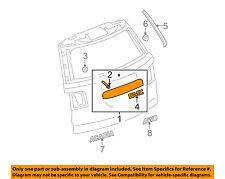 GMC GM OEM 09-16 Acadia Liftgate Tailgate Hatch-Applique Window Trim 22786317