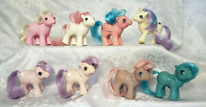 My Little Pony g1 Beddy Bye Eye Sundance / Lickety Split ~ Ember's Dream ~ Glory