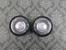 SET OF 2 High Quality Beats Solo HD Replacement Speaker Headphone Part 40 mm #SS
