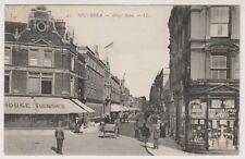 Hampshire postcard - Southsea - King's Road - LL No. 45 - P/U 1907