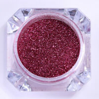 0.2G Mirror Nail Powder Dust Born Pretty Rose Red Chrome Pigment Glitter Decor