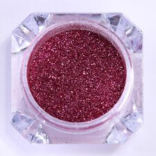 0.2G Mirror Nail Powder Dust Born Pretty Rose Red Chrome Pigment Glitter Decor