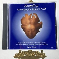 Native American Flute Music CD Sounding Journeys for Inner Truth Nina Spiro Vol1