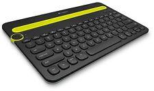Logitech K480 Black Bluetooth Multi-Device Keyboard for PC Mac Tablet Smartphone