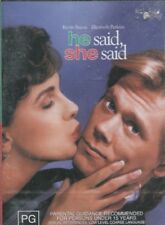 HE SAID SHE SAID -  Kevin Bacon, Elizabeth Perkins, Nathan Lane - DVD