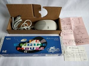 PC Engine Mouse PI-PD10 turbografx16 Boxed set/ Not tested-d0226-2-