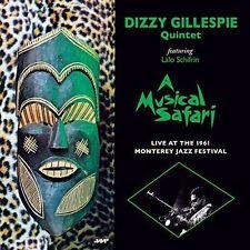 Dizzy Gillespie -  A Musical Safari: Live at Monterey  Jazz Wax Vinyl New