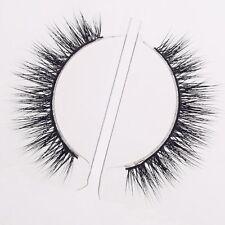 Arimika Natural Handmade Short Soft Mink Fur Strip False Eyelashes For makeup 1