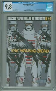 Walking Dead # 175 CGC 9.8 NM/MT 1st Appearance of the Commonwealth 2018