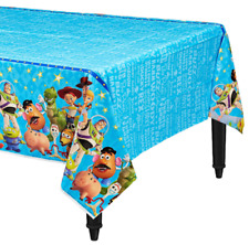Disney Toy Story 4 Plastic Table Cover Kids Birthday Party Supplies Decoration