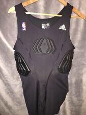 Adidas NBA Basketball Techfit ClimaCool Mens Padded Compression Top Black XL