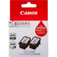 Canon PG-645/CL-646 Value Pack Ink Cartridge - 2 Pieces Black