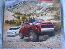 Toyota 4Runner range brochure 2014 USA market