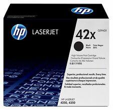 Genuine HP Q5942X (42X) Black High Capacity Toner Cartridge | FREE 🚚 DELIVERY