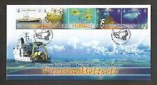 PITCAIRN ISLANDS 2010 HOTSPOTS FDC SG,812-815 LOT 4359A