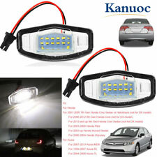Vehicles License Plate Light LED Lamp For Honda Civic Accord Odyssey Acura MDX