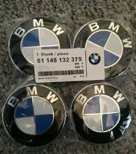 BMW Alloy Wheel Centre Hub Caps / Set of 4 / 68mm / BMW Center Caps  / 10 Pin
