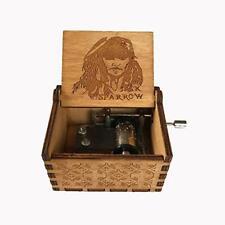 MINGZE Manovella in Legno Music Box meccanismo, varietà di Stili (p6V)