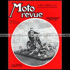 MOTO REVUE N°1477-c RATIER C6 600 MOTOBECANE 175 AGF 125 ZUNDAPP 200 CROSS 1960