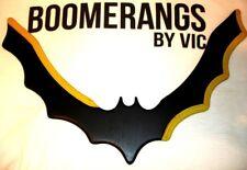 Batman Batarang Boomerang handcrafted Boomerangs By Vic REALLY RETURNS!