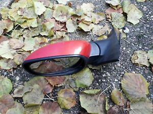 Mazda Rx8 2003-2008 Wing Mirror Passenger Side(Left) Velocity Red
