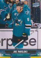 2013-14 Upper Deck #258 JOE PAVELSKI - San Jose Sharks