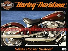 HARLEY DAVIDSON FXCWC 1584 Softail Rocker Custom KING KONG to Museum ; MOTO HD