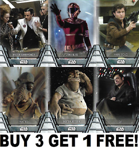 TOPPS STAR WARS 2020 HOLOCRON SERIES BASE CARDS 1-200  Buy 3 Get 1 Free!
