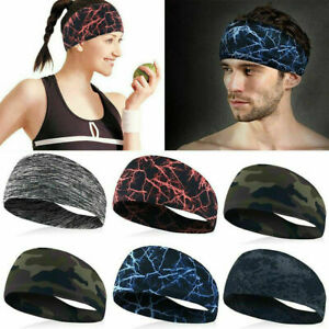 2021 New Cotton Sport Sweat Sweatband Headband Yoga Gym Stretch Unisex Head Band
