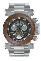 Invicta Coalition Forces Chronograph Black Dial Stainless Steel Men's 17645