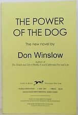 DON WINSLOW The Power of the Dog UNCORRECTED PROOFS