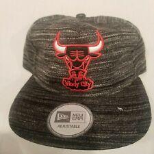 Chicago Bulls New Era Adjustable Snapback Trucker Hat  - New ships in box