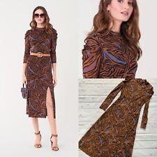 £316 Iconic DVF Dress, Diane Von Furstenberg Dress, Sandra Midi Dress, Size L