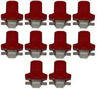 10x ampoule T5 12V LED SMD rouge pour tableau de bord pour auto voiture
