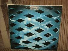 THE WHO - TOMMY - SOUNDTRACK -DOUBLE VINYL LP RECORD ALBUM -1973 - 2657002 - P92