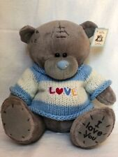 Me to You - LOVE - 10 inch Teddy Bear plush Toy - Blue - Brand New