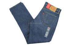 Levis 511 Dark Authentic 32X32 045112301 Slim Jeans Blue Made in USA 100% Cotton