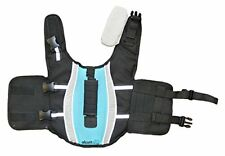 Alcott Mariner Pet Life Jacket with Reflective Accents & Support H&le Small Blue