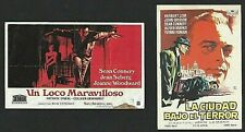 2 x FILMS avec ... (SEAN CONNERY) 2 PROGRAMMES ESPAGNOLS D'ORIGINE