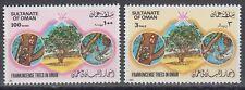 Oman 1985 ** Mi.290/91 Bäume Frankincense Trees Weihrauch
