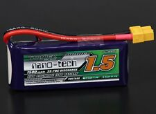RC Turnigy nano-tech 1500mah 3S 35~70C Lipo Pack