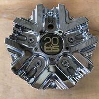 20 TIS Custom Wheel Center Hub Cap TIS1220011 S607-23 Chrome Aftermarket Cover