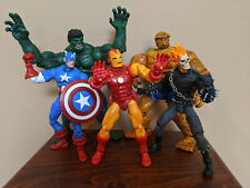 * Marvel Legends - Hulk, Thing, Captain America, Iron Man, Ghost Rider - 2002 *