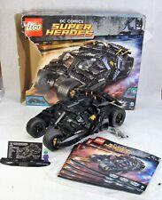 LEGO BATMOBILE #76023 THE TUMBLER BATMAN DC COMICS SUPER HEROES 99.5% COMPLETE!