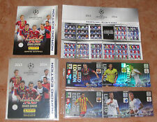 Adrenalyn CL 2013-2014 Nordic edition complete set 384 Cards + all 66 LE cards