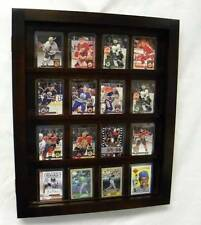 Card Display Case Hold 20  ungraded Cards Black
