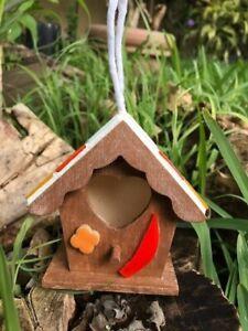 Bird houses with mosaic Handmade