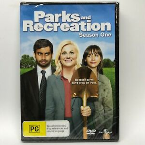 Parks and Recreation - Season One -  DVD - AusPost with Tracking - New Sealed