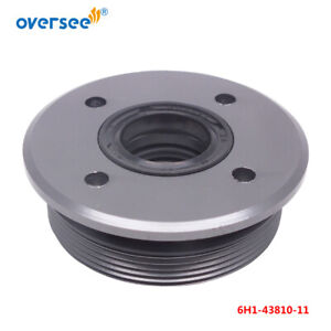 6H1-43810-11 Cap with Seals For Yamaha Outboard Motor 2/T 60 70 75 85 90HP